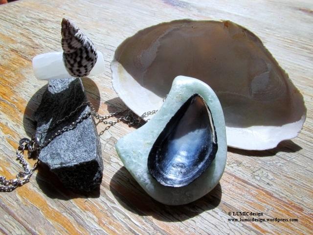 Schmuck aus Stein und Meer – jewels of stone and sea